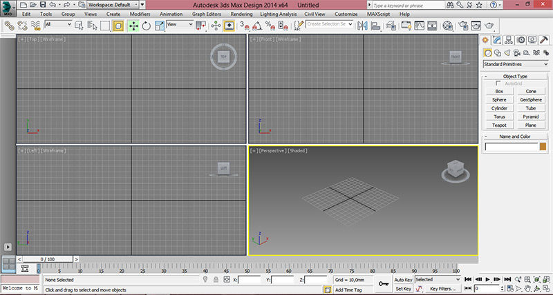 3dsmax1 - How to open the STL model in the program 3ds Max
