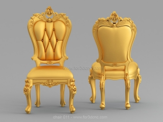 CHAIRS 011 | STL – 3D model for CNC