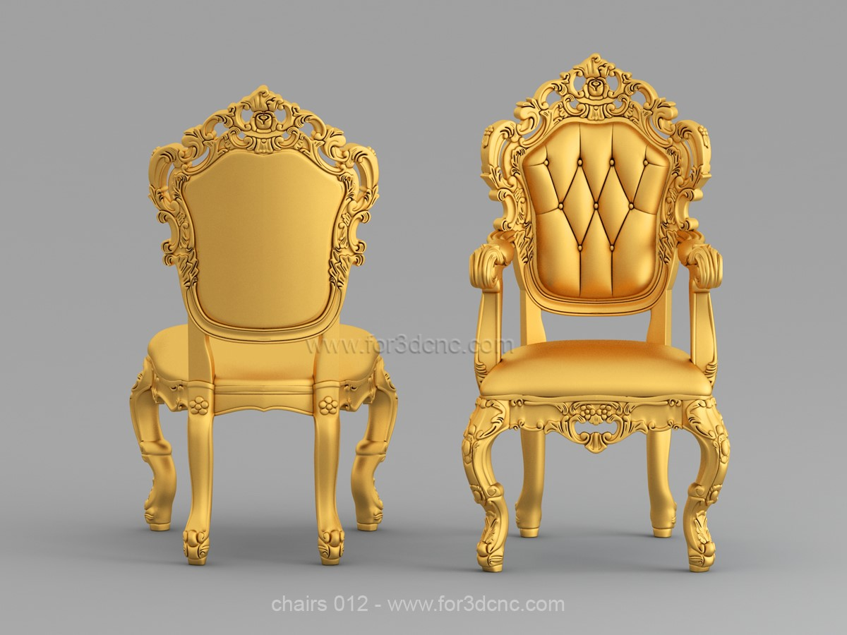 chairs 012 ww for3dcnc com - SAMPLE STL 3D MODELS: CHAIRS