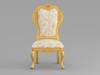 CHAIRS 013 | STL – 3D model for CNC