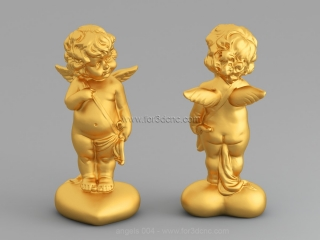 ANGELS 004 | STL – 3D model for CNC