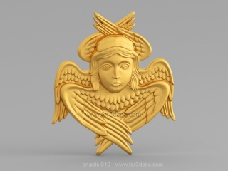 ANGELS 010 | STL – 3D model for CNC