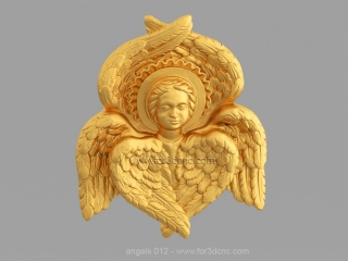 ANGELS 012 | STL – 3D model for CNC