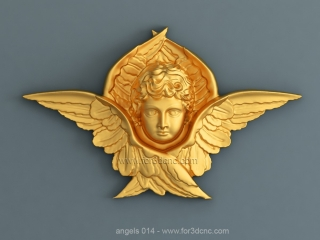 ANGELS 014 | STL – 3D model for CNC