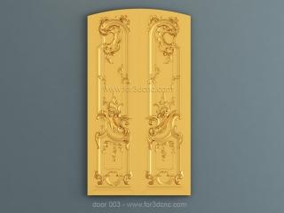DOOR 003 | STL – 3D model for CNC