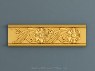 MOULDING 027 | STL – 3D model for CNC