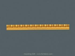 MOULDING 029 | STL – 3D model for CNC