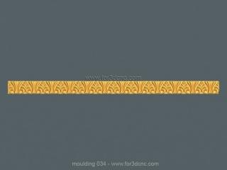 MOULDING 034 | STL – 3D model for CNC