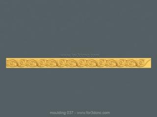 MOULDING 037 | STL – 3D model for CNC