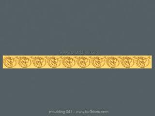 MOULDING 041 | STL – 3D model for CNC