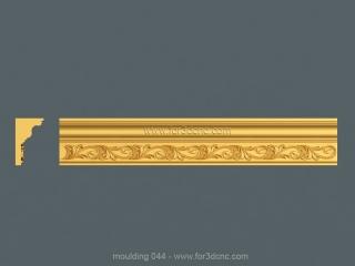 MOULDING 044 | STL – 3D model for CNC