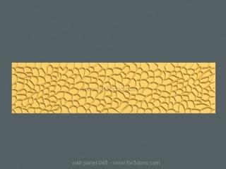 3D PANEL 045 | STL – 3D model for CNC