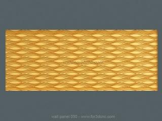3D PANEL 050 | STL – 3D model for CNC