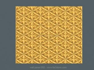 3D PANEL 052 | STL – 3D model for CNC