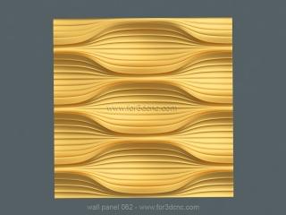 3D PANEL 061 | STL – 3D model for CNC