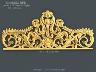 BED 069 | STL – 3D model for CNC