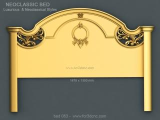 BED 083 | STL – 3D model for CNC