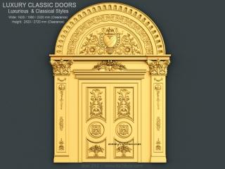 DOOR 013 | STL – 3D model for CNC