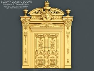 DOOR 015 | STL – 3D model for CNC