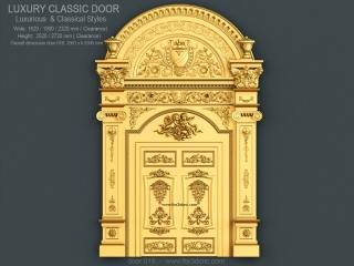 DOOR 016 | STL – 3D model for CNC