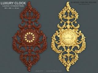 clock 011 www for3dcnc com 320x240 - CLOCK 011 | STL - 3D model for CNC