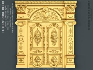 DOOR 024 | STL – 3D model for CNC