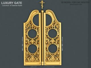 GATE 001 | STL – 3D model for CNC