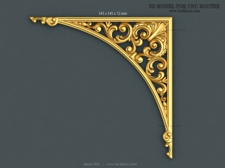DECOR 092 | STL – 3D model for CNC