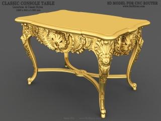 TABLE 052 | STL – 3D model for CNC