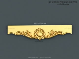 UNDERFRAMES 050 | STL – 3D model for CNC