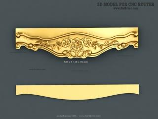 UNDERFRAMES 063 | STL – 3D model for CNC