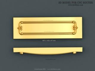 UNDERFRAMES 065 | STL – 3D model for CNC