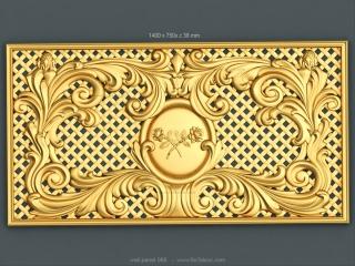 3D PANEL 068 | STL – 3D model for CNC