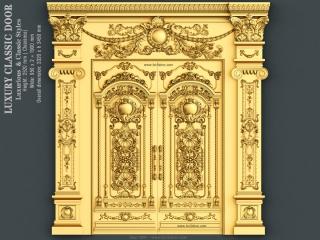 DOOR 029 | STL – 3D model for CNC