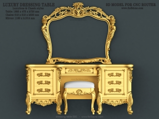 dressing table 026a www for3dcnc com 320x240 - CNC MODEL