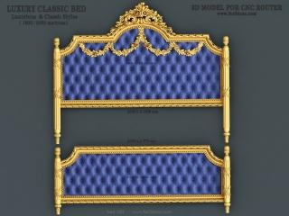 BED 100 | STL – 3D model for CNC