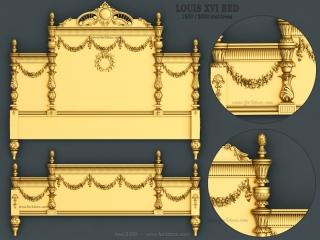 BED 106 | STL – 3D model for CNC