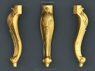 LEGS 216 | STL – 3D model for CNC