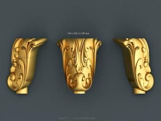 LEGS 217 | STL – 3D model for CNC