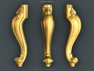 LEGS 220 | STL – 3D model for CNC