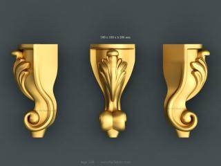 LEGS 226 | STL – 3D model for CNC