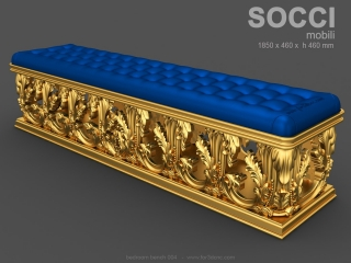 BEDROOM BENCHES 004 | STL – 3D model for CNC