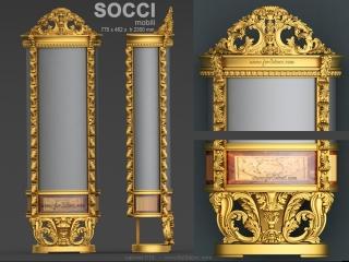 CABINET 015 | STL – 3D model for CNC