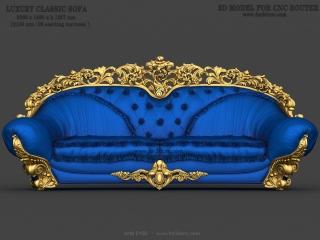 sofa 100d www for3dcnc com 320x240 - CNC MODEL