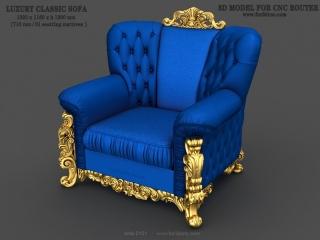 sofa 101a www for3dcnc com 320x240 - SOFA 0101 | STL – 3D model for CNC