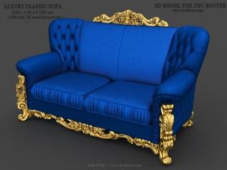 sofa 102a www for3dcnc com 320x240 - SOFA 0102   STL – 3D model for CNC