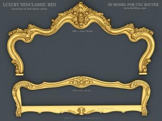 BED 0114 | STL – 3D model for CNC