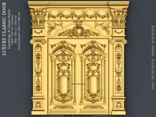 DOOR 035 | STL – 3D model for CNC