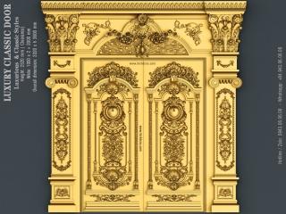DOOR 039 | STL – 3D model for CNC