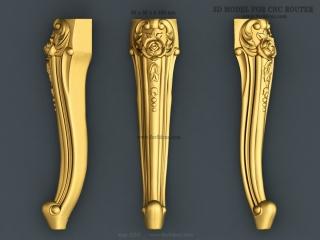LEGS 250 | STL – 3D model for CNC